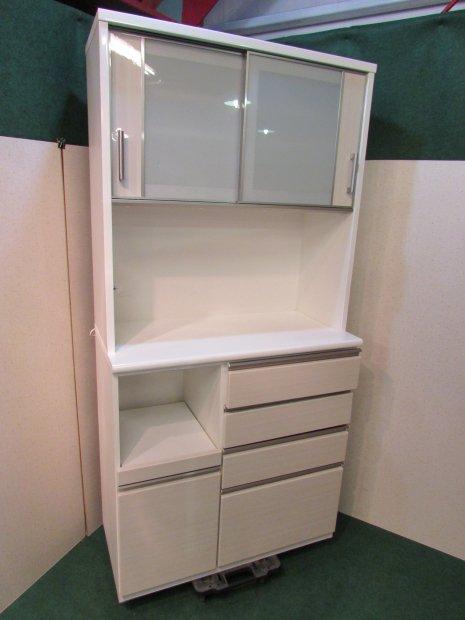 ニトリ 食器棚 ホワイト