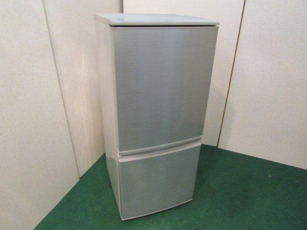 2014年製 シャープ ノンフロン冷凍冷蔵庫 SJ-14Y-S