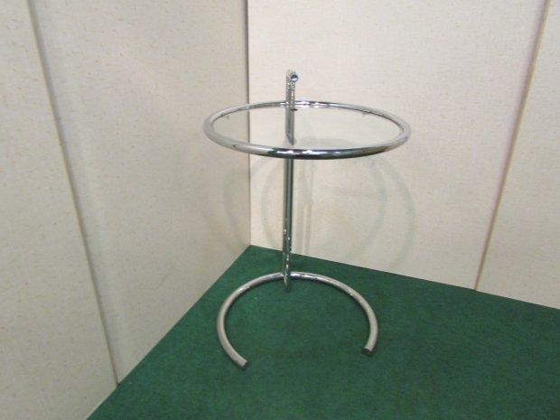 サイドテーブル ガラスキャビネット