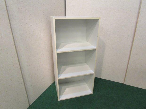 コーナン カラーボックス 3段収納 ホワイト