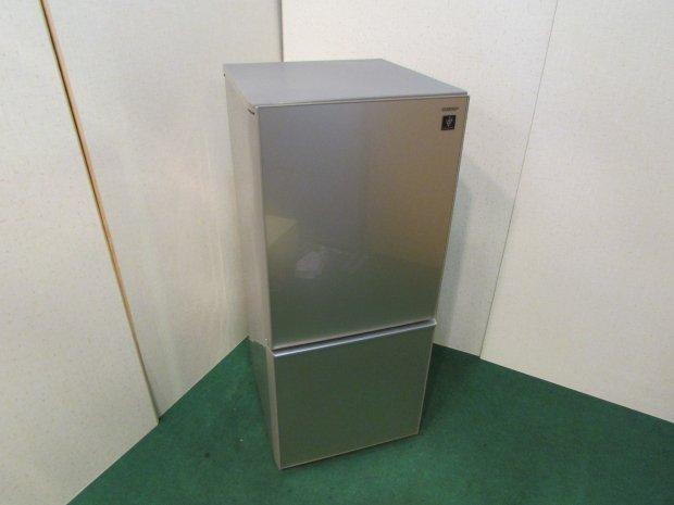 2017年製 シャープ ノンフロン冷凍冷蔵庫 SJ-GD14C-C