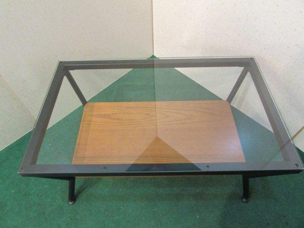 センターテーブル ガラスキャビネット