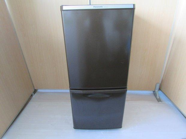 2012年製 パナソニック ノンフロン冷凍冷蔵庫 NR-B145W-T