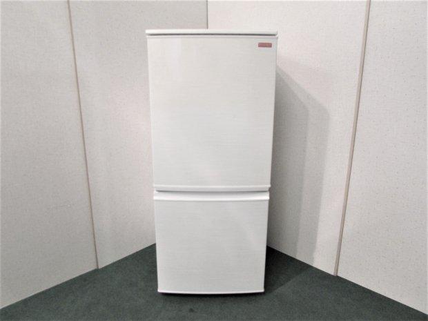 2012年製 シャープ ノンフロン冷凍冷蔵庫 SJ-C14X-W