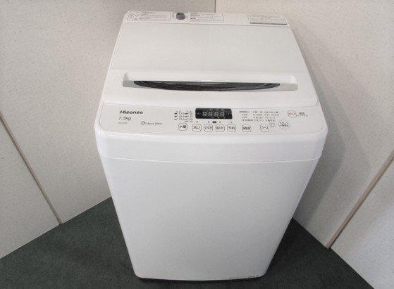 2017年製 ハイセンス 全自動洗濯機 HW-G75A