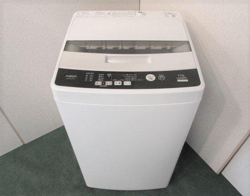 2016年製 アクア 全自動洗濯機 AQW-S45EC