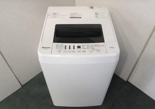 2018年製 ハイセンス 全自動洗濯機 HW-T45C