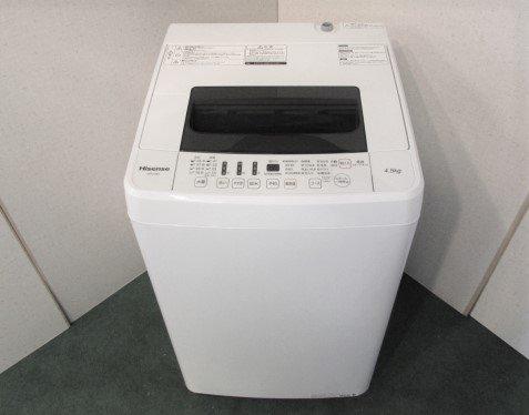 2017年製 ハイセンス 全自動洗濯機 HW-T45C
