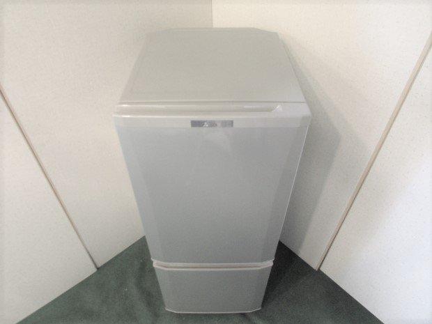 2016年製 三菱 ノンフロン冷凍冷蔵庫 MR-P15A-S