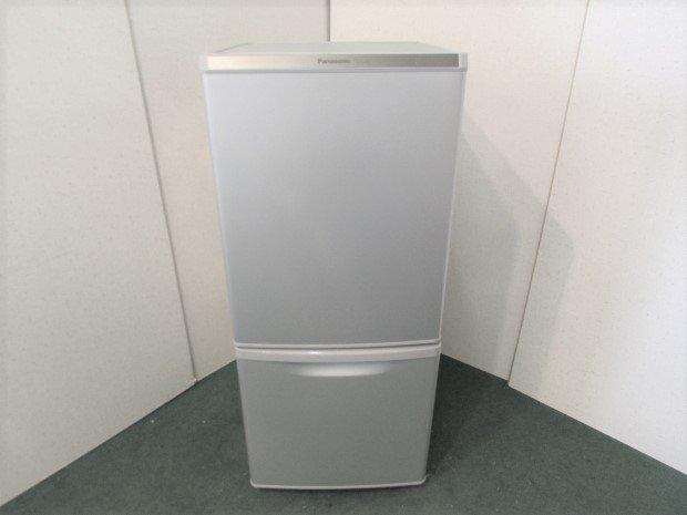 2017年製 パナソニック ノンフロン冷凍冷蔵庫 NR-B14AW-S