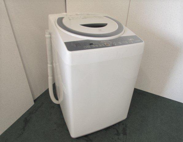 2009年製 シャープ全自動電気洗濯機 ES-TG72-A