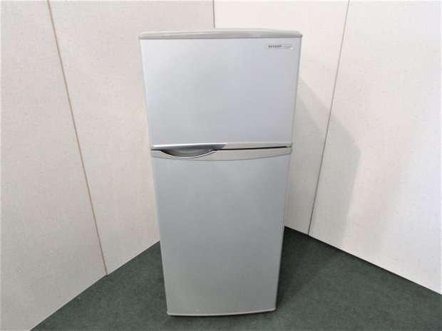2013年製 シャープ ノンフロン冷凍冷蔵庫 SJ-H12W-S