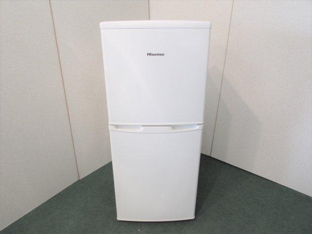 2013年製 ハイセンス 2ドア冷凍冷蔵庫 HR-B106JW