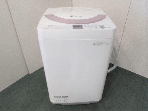 2013年製 シャープ全自動電気洗濯機6.0� ES-GE60N-P