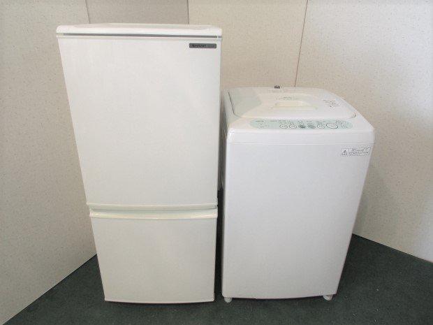 選べるセット 中古低年式家電 2点セット 冷蔵庫+洗濯機(国産メーカー)