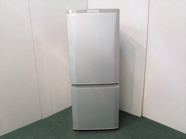 2016年製 三菱 ノンフロン冷凍冷蔵庫 MR-P15Z-S1
