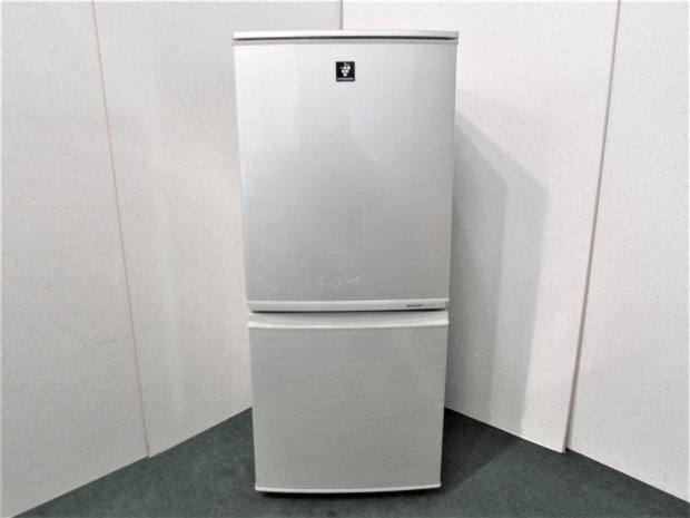 2013年製 シャープ ノンフロン冷凍冷蔵庫 SJ-PD14X-N