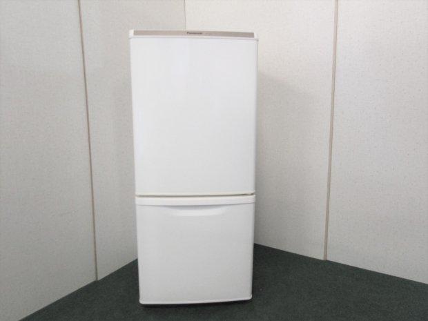 2014年製 パナソニック ノンフロン冷凍冷蔵庫 NR-BW147W-W