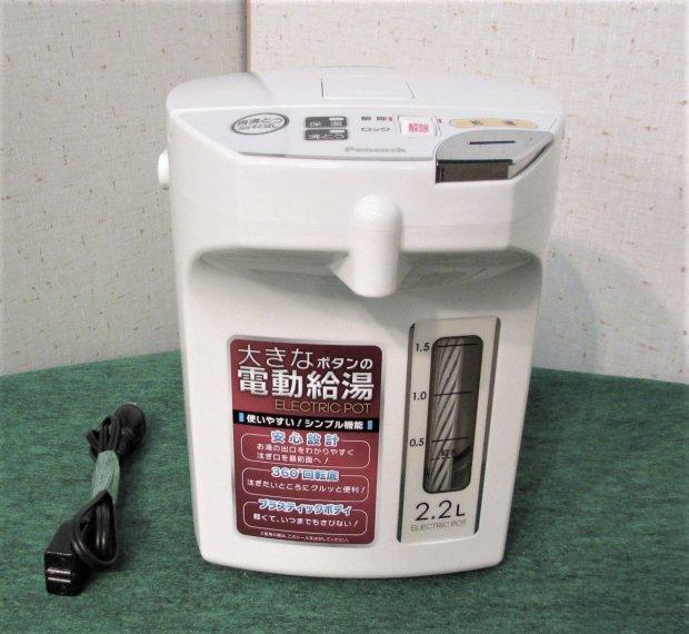 2018年製 ピーコック魔法瓶 電動給湯ポット(2.2L) WMJ-22