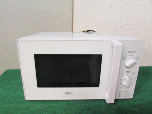 2019年製 ハイアール 【西日本専用・60Hz】電子レンジ 17L ホワイトHaier JM-17H-60-W