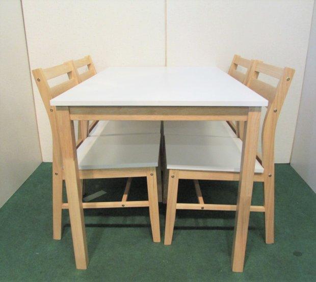 ニトリ ダイニングテーブル 椅子セット 木目 SK-110