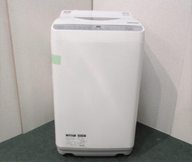 2017年製 シャープ 全自動洗濯機 ES-TX5B-N