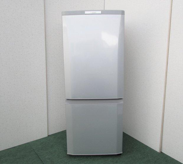 2015年製 三菱 ノンフロン冷凍冷蔵庫 MR-P15Y-S