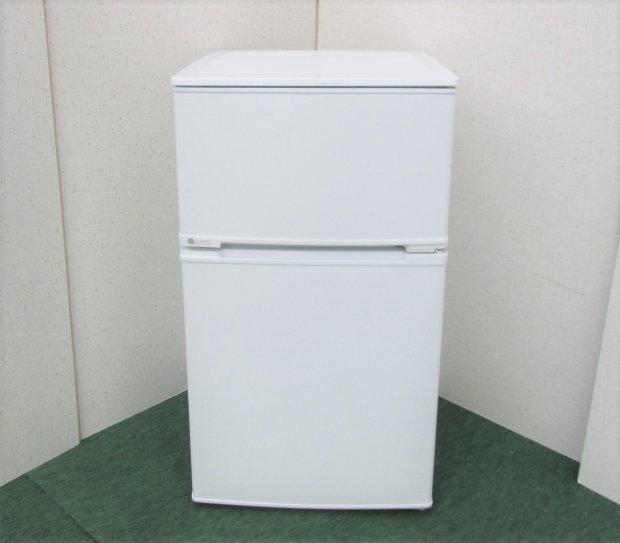 2017年製 ユーイング ノンフロン冷凍冷蔵庫 UR-D90J-W