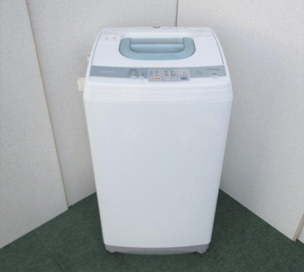 2010年製 日立 全自動洗濯機 NW-5KR