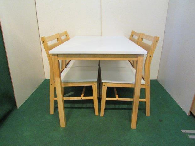 ニトリ ダイニングテーブル イスセット 木目 SK-110