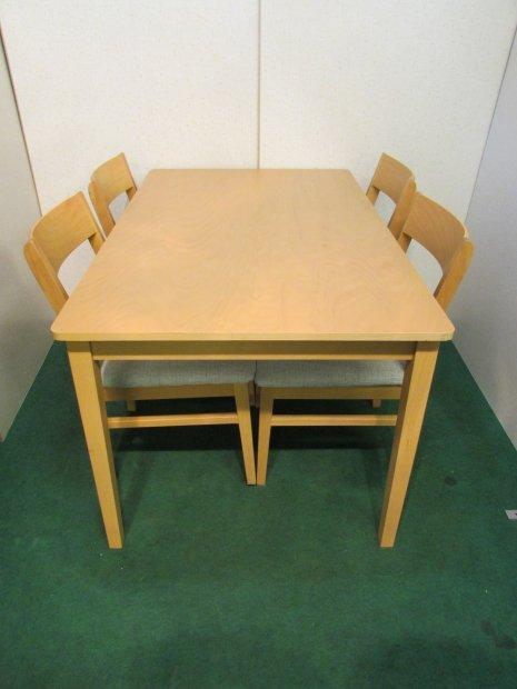 ニトリ ダイニングテーブル イスセット(木目) SK-110