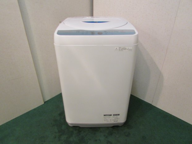 2012年製 シャープ全自動洗濯機 ES-GE55L-A