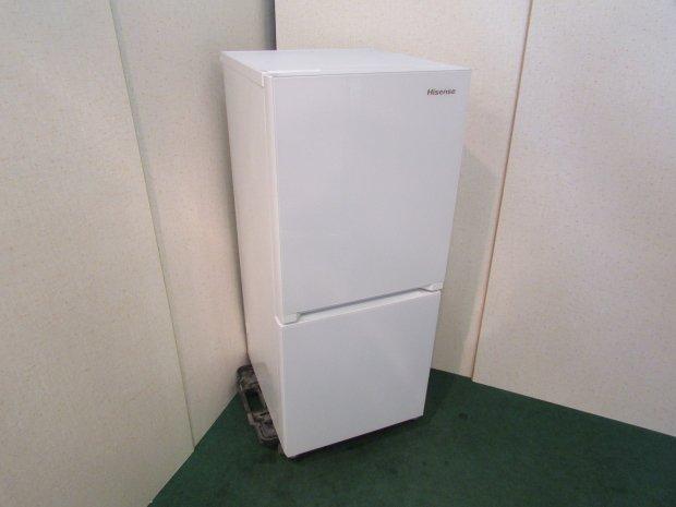 2019年製 ハイセンス 2ドア冷凍冷蔵庫 HR-G13A-W