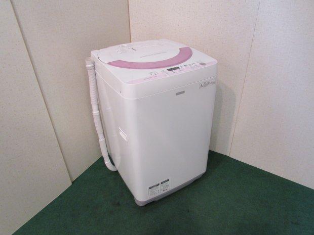 2015年製 シャープ 全自動洗濯機 ES-G55PC(2531)