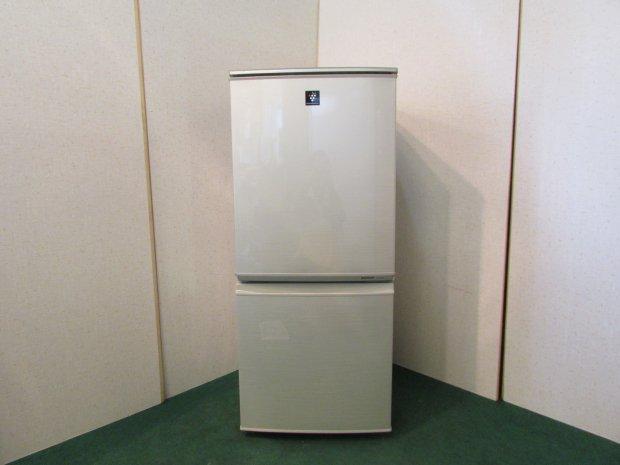 2011年製 シャープ ノンフロン冷凍冷蔵庫 SJ-PD14T-N(0063)