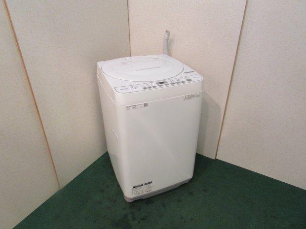 2018年製 シャープ 全自動洗濯機 ES-G60TC-W(6314)