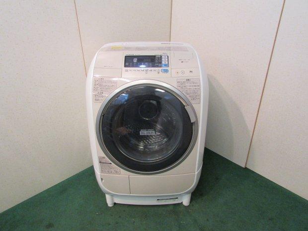 2013年製 日立 ドラム式全自動洗濯機 BD-V3500L(4409)