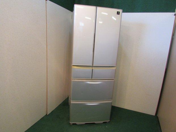 2013年製 シャープ ノンフロン冷凍冷蔵庫 SJ-XF44X-S(7816)