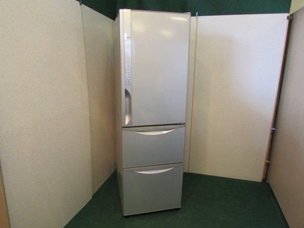 2014年製 日立ノンフロン冷凍冷蔵庫 R-K320EV(S)(6354)