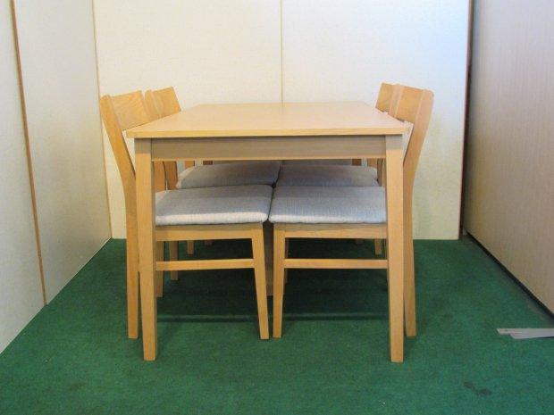 ニトリ ダイニングテーブルセット 4人掛け(0701)