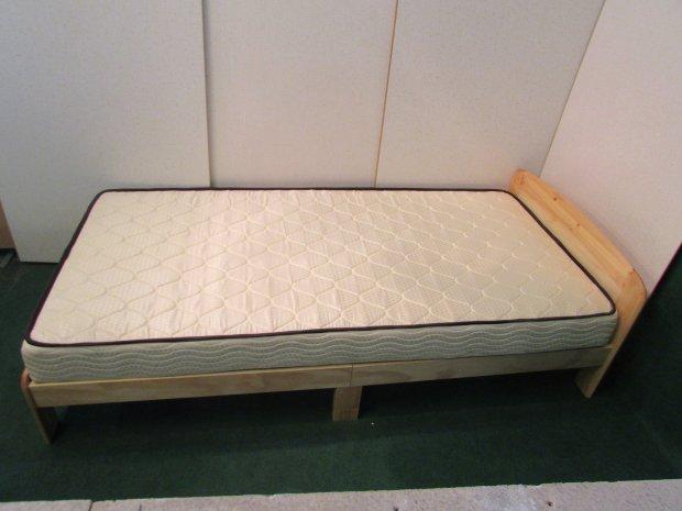 ニトリ シングルベッドマットレス付き S-フレールーNA-S(8991)