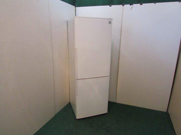 2014年製 シャープ ノンフロン冷凍冷蔵庫 SJ-PD27Y-W (6945)