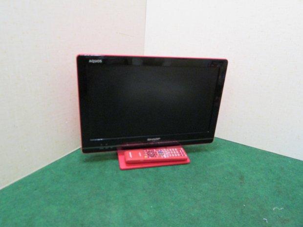 2011年製 シャープ AQUOS液晶テレビ LC-19K5 (4253)