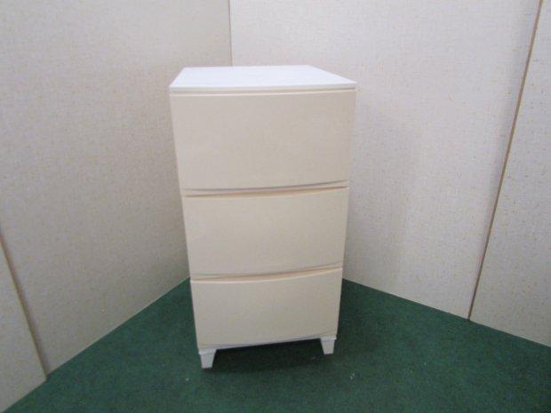 衣装ケース 3段収納 ホワイト