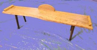 昼寝ベンチ/楓(杢)のベンチ