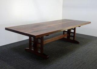 ウォールナット無垢テーブル(8~10人掛け)