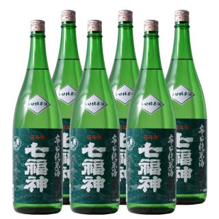 【まとめ得】辛口純米酒 七福神1800ml×6本【送料無料】