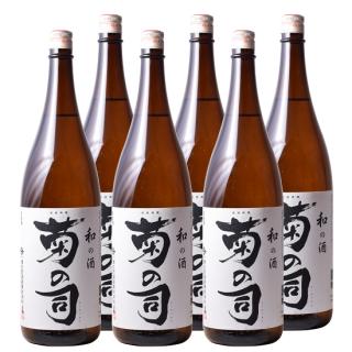 【まとめ得】和の酒 菊の司1800ml×6本
