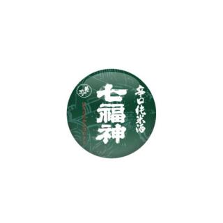 【SAKEMARK】辛口純米酒 七福神 缶バッチ【送料無料】
