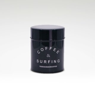 TRSCオリジナルキャニスター『coffee & surfing』 ネイビー